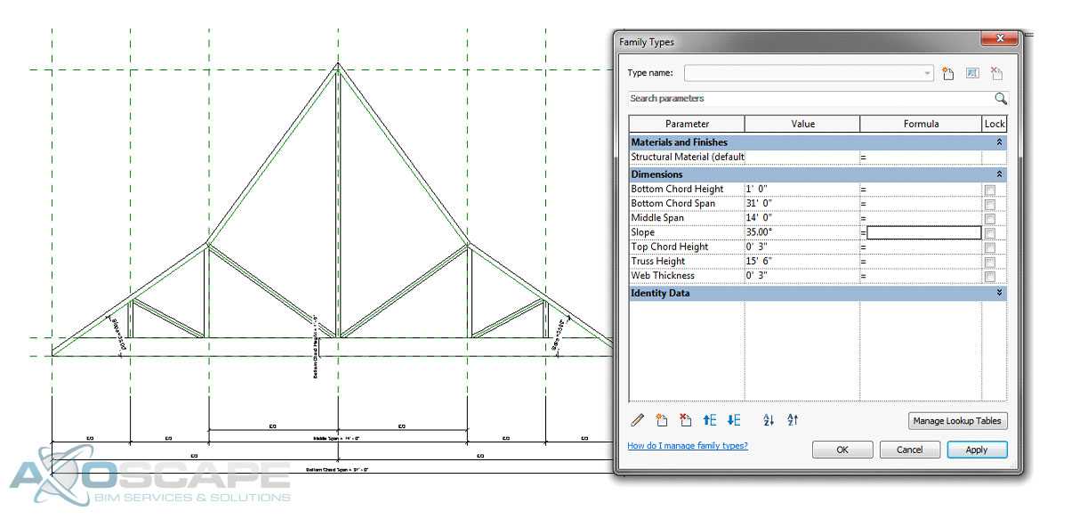How To Create A Polynesian Gambrel Roof Truss Axoscape